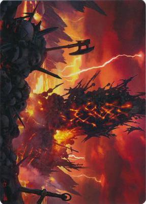 Immersturm Skullcairn Art Card