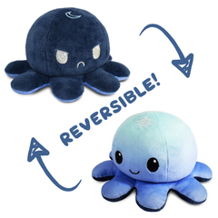 Reversible Octopus Plushie - Day and Night
