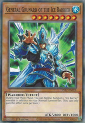 General Grunard of the Ice Barrier - SDFC-EN018 - Common - 1st Edition