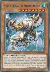 Moulinglacia the Elemental Lord - SDFC-EN025 - Common - 1st Edition