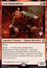 Arni Brokenbrow - Foil - Promo Pack
