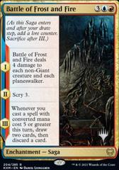 Battle of Frost and Fire - Promo Pack