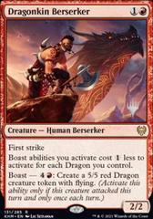 Dragonkin Berserker - Foil - Promo Pack