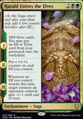Harald Unites the Elves - Foil - Promo Pack