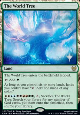The World Tree - Foil - Promo Pack