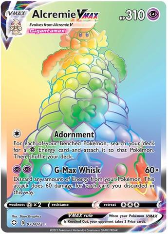 Alcremie VMAX - 073/072 - Secret Rare