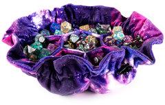 Dice Bag: Nebula - Velvet Compartment Bag with Pockets