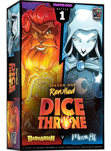 Dice Throne: Season One ReRolled - Barbarian vs. Moon Elf