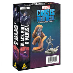 Marvel: Crisis Protocol - Black Bolt and Medusa Character Pack