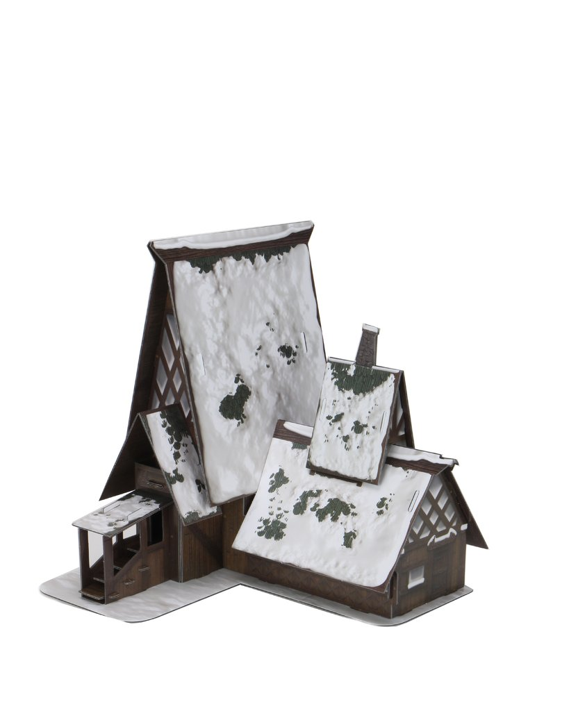 D&D Miniatures: Icons Of The Realms - Icewind Dale Rime Of The FrostMaiden - The Lodge PaperCraft Set