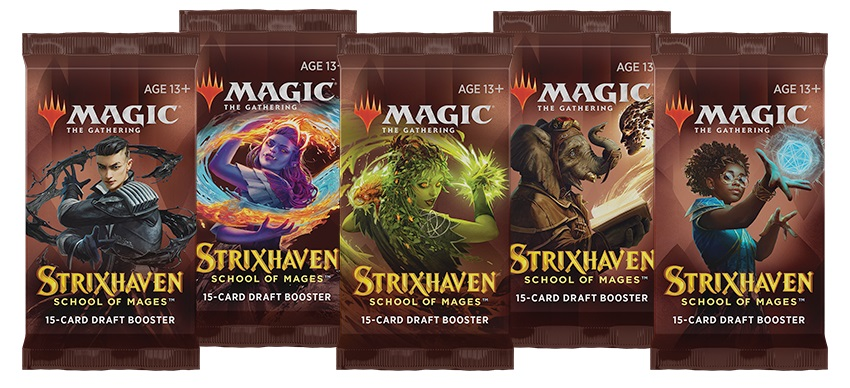 Strixhaven: School of Mages - Draft Booster Pack