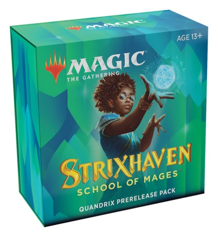 Strixhaven: School of Mages - Prerelease Pack - Quandrix (PREORDER APRIL 16)