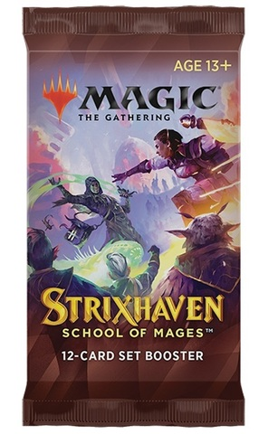 Strixhaven: School of Mages Set Booster Pack (PREORDER APRIL 23)