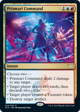 Prismari Command - Foil
