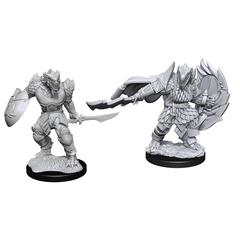D&D Nolzur's Marvelous Miniatures: Dragonborn Fighter Male (Wave 15)