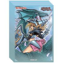 Konami - Yu-Gi-Oh!: Card Sleeves - Dark Magician Girl Dragon Knight (50ct)