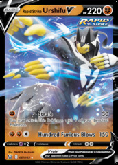 Rapid Strike Urshifu V - 087/163 - Ultra Rare