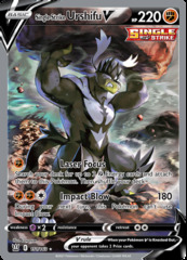 Single Strike Urshifu V - 151/163 - Full Art Ultra Rare