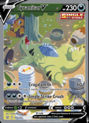 Tyranitar V - 155/163 - Full Art Ultra Rare