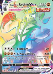 Single Strike Urshifu VMAX - 167/163 - Secret Rare