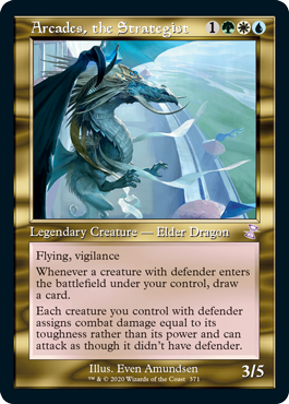 Arcades, the Strategist - Foil