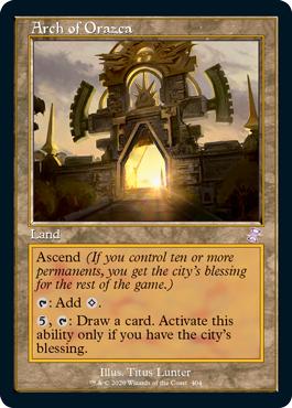 Arch of Orazca - Foil