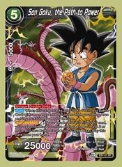 Son Goku, the Path to Power - EB1-51 - SR