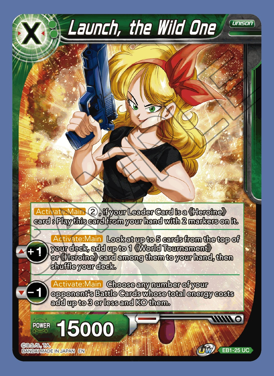 Launch, the Wild One - EB1-25 - UC - Foil