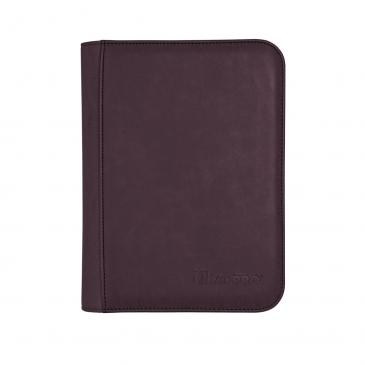 Ultra Pro - Zippered 4-Pocket Premium PRO-Binder - Suede Collection: Amethyst