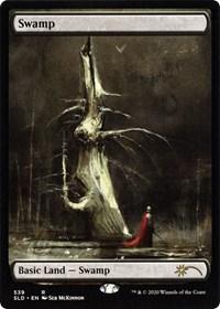 Swamp (539) - Foil - Artist Series: Seb McKinnon