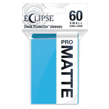 Ultra Pro: Eclipse PRO-Matte Small Deck Protector Sleeves 60ct - Sky Blue