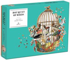 Galison Bouquet of Birds - 750 Piece Jigsaw Puzzle
