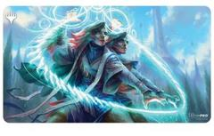 Ultra Pro MTG Strixhaven Commander Playmat - Quandrix - Adrix and Nev, Twincasters