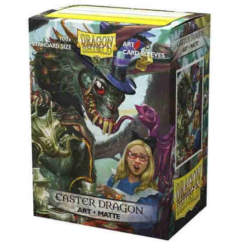 Dragon Shield Sleeves: Matte Art - Easter Dragon 2021 (100)