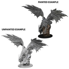 Pathfinder Battles Deep Cuts Unpainted Minis: Silver Dragon (W12.5)