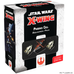 Star Wars X-Wing - 2nd Edition - Phoenix Cell Squadron Pack