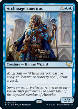 Archmage Emeritus - Foil