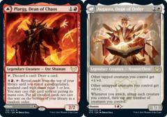 Plargg, Dean of Chaos // Augusta, Dean of Order - Foil