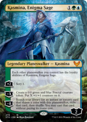 Kasmina, Enigma Sage - Foil - Borderless