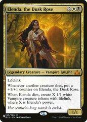 Elenda, the Dusk Rose - The List