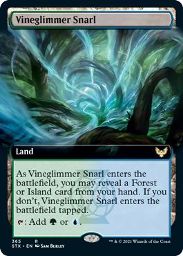 Vineglimmer Snarl - Extended Art