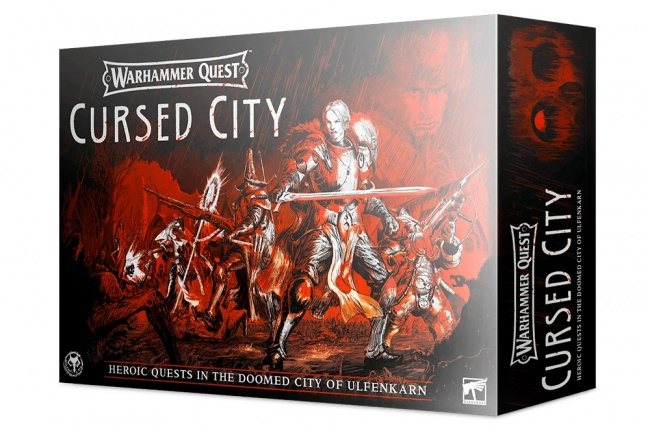 Warhammer Quest: Cursed City (English)