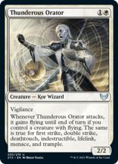 Thunderous Orator - Foil