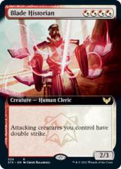 Blade Historian - Foil - Extended Art
