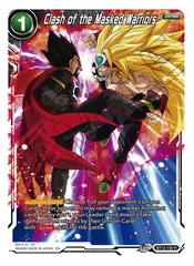 Clash of the Masked Warriors - BT13-150 - R - Foil