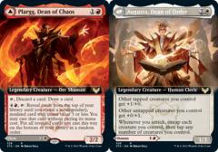 Plargg, Dean of Chaos // Augusta, Dean of Order - Extended Art