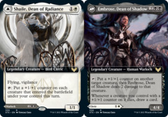 Shaile, Dean of Radiance // Embrose, Dean of Shadow - Foil - Extended Art