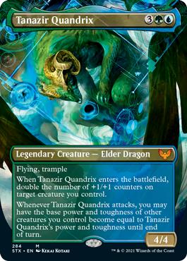 Tanazir Quandrix - Borderless