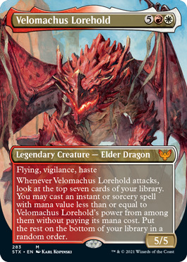 Velomachus Lorehold - Foil - Borderless