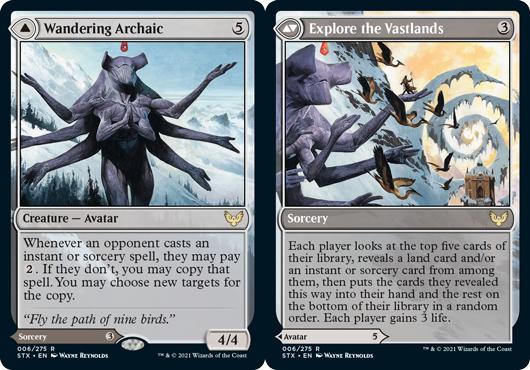 Wandering Archaic // Explore the Vastlands - Foil